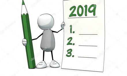 Goede voornemens voor 2019?