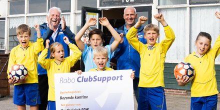 6 nov. – uitslag Rabo clubsupport.
